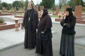 003. Соборная христианская молитва на мемориальном кладбище