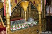 004. Рака с мощами св. Лазаря в храме в Ларнаке
