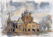 006. Казанская церковь в Коломенском в Москве