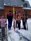007. Это наша лыжная команда