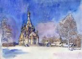 008. Казанская церковь в г. Долгопрудный, Московская область