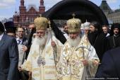 016 Святейший Патриарх Кирилл и Блаженнейший Архиепископ Афинский и всей Эллады Иероним