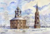016. Казанская церковь в с. Курба, Ярославская область