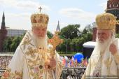 018 Святейший Патриарх Кирилл и Блаженнейший Архиепископ Афинский и всей Эллады Иероним