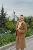 Паломница Анна Ушацкая в Оптине
