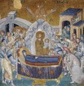 021. Константинополь. Мозаика монастыря Хора
