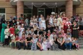 022. Общая фотография детей и педагогов реабилитационного центра