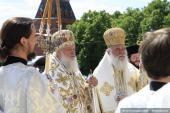 023 Святейший Патриарх Кирилл и Блаженнейший Архиепископ Афинский и всей Эллады Иероним