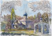 024. Казанская церковь в Богородице-Казанском женском монастыре «Новое Шамордино» в Кентлине, Австралия