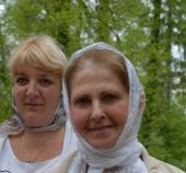 Паломницы Наталия Патаракина и Татьяна Цюрпита