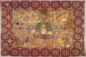 025. Вышитая пелена. Государственный музей Московского Кремля. XVII век