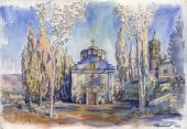 025. Казанская церковь в Горненском русском женском монастыре в Иерусалиме