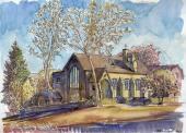 028. Казанская церковь в Ньюарке, Нью-Джерси, США