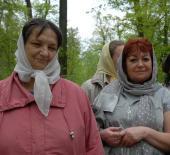 паломницы Вера Афанасьева и Наталия