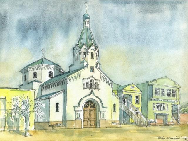 029. Казанская церковь в Сан-Франциско, США