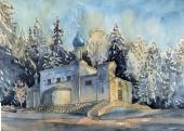 030. Казанская церковь в Ярвенпяа, Финляндия