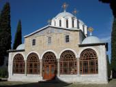 Храм на территории скита Предтечи
