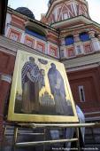 040 Икона святым равноапостольным Мефодию и Кириллу