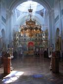 Внутреннее убранство храма Скита Святого Андрея