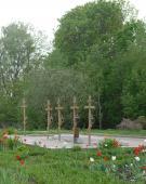 Место захоронения игумений Шамордино. Усыпальница разрушена в советское время