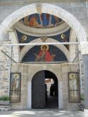 Главные врата в Свято-Пантелеимон Монастырь