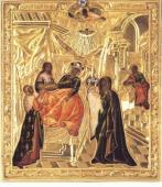 031. Подобие иконы Рождества Богородицы (Глинской), находящееся в Санкт-Петербурге