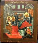 035. Рождество Богородицы Болгария. Икона XVIII века