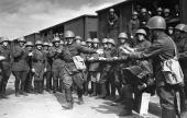 006. Поезда идут на фронт 25 июня 1941 г.