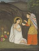 022. Благовещение. Индийская икона. 18 век