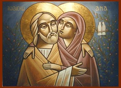 040. Богоотец Иоаким и Анна