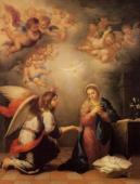 036. Благовещение. Бартоломео Мурильо, 1655