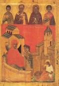 042.Исааковская икона Рождества Пресвятой Богородицы (XVIII в.).