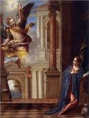 038. Благовещение. Паоло Вернезе 1560