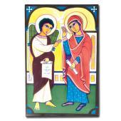 046. Благовещение. Египетская икона